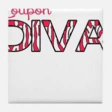Coupon Diva Tile Coaster