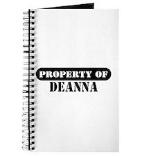 Property of Deanna Journal