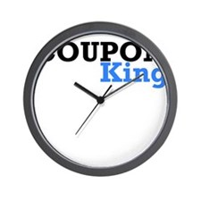 COUPON KING Wall Clock