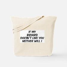 If my Briard Tote Bag