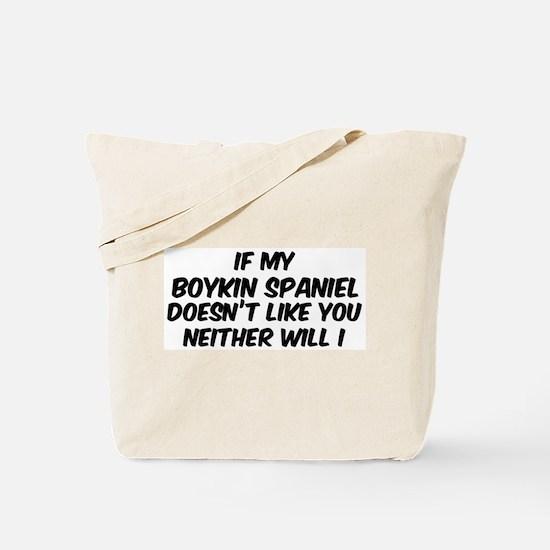 If my Boykin Spaniel Tote Bag