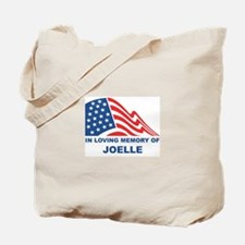 Loving Memory of Joelle Tote Bag