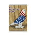Patriotic West Rectangle Magnet (100 pack)