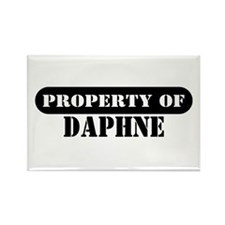 Property of Daphne Rectangle Magnet