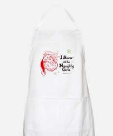 I know all the naughty girls -  BBQ Apron
