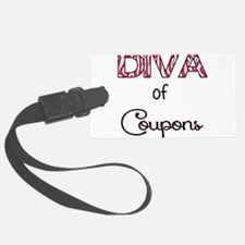 Diva of Couponing Luggage Tag