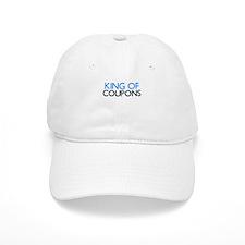 KING OF COUPONS Baseball Baseball Cap