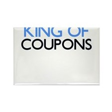 KING OF COUPONS Rectangle Magnet