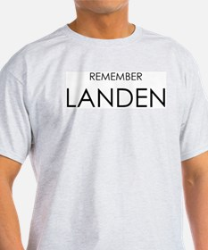 Remember Landen Ash Grey T-Shirt