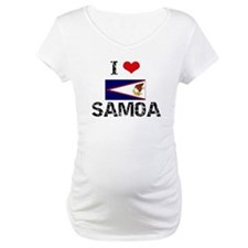 I HEART SAMOA FLAG Shirt