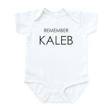 Remember Kaleb Infant Bodysuit