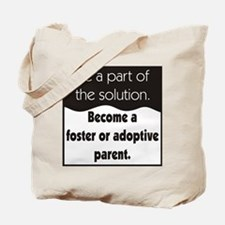 Foster Care and Adoption Tote Bag