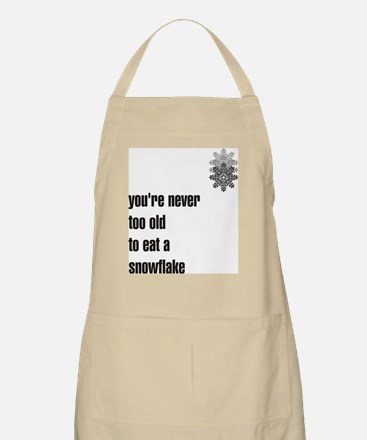 You're never too old to eat a BBQ Apron