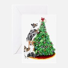Corgi Christmas Greeting Cards (Pk of 10)