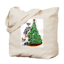 Corgi Christmas Tote Bag