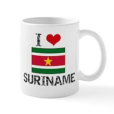 I HEART SURINAME FLAG Mug