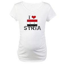I HEART SYRIA FLAG Shirt