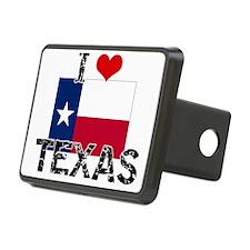 I HEART TEXAS FLAG Hitch Cover