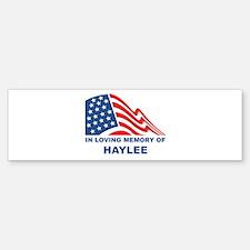Loving Memory of Haylee Bumper Bumper Bumper Sticker