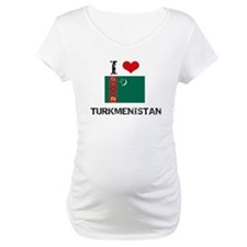 I HEART TURKMENISTAN FLAG Shirt