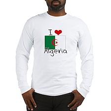 I HEART ALGERIA FLAG Long Sleeve T-Shirt