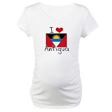 I HEART ANTIGUA FLAG Shirt