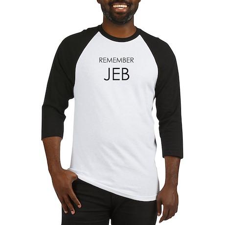 Remember Jeb Baseball Jersey