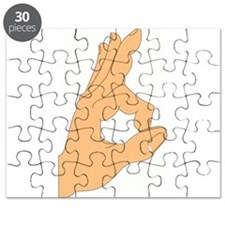 Hand OK Sign Puzzle