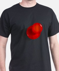 Red Push Pin T-Shirt