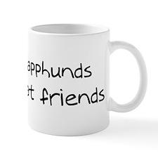 Finnish Lapphunds make friend Mug