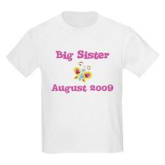Big Sister August 2009 Kids Tee