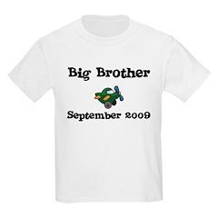 Big Brother September 2009 Kids Tee