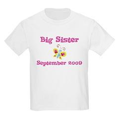 Big Sister September 2009 Kids Tee