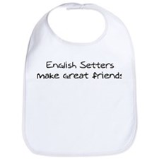 English Setters make friends Bib