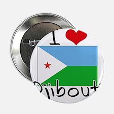 "I HEART DJIBOUTI FLAG 2.25"" Button"