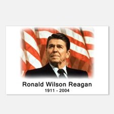 Ronald Reagan Rememberance Postcards (Package of 8