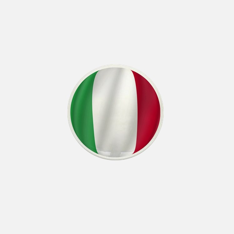 Pure Flag of Italy Mini Button