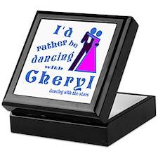 Dancing With Cheryl Keepsake Box