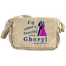 Dancing With Cheryl Messenger Bag
