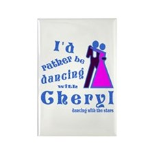 Dancing With Cheryl Rectangle Magnet