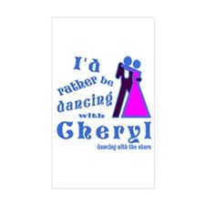 Dancing With Cheryl Decal