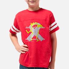 neg_quote_canary_purple_ribbo Youth Football Shirt