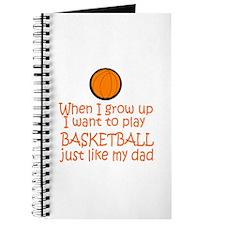 Basketball...just like DAD Journal