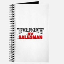"""The World's Greatest RV Salesman"" Journal"