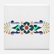 Floral Delight Tile Coaster