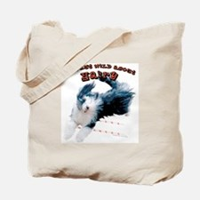 Wild about HAIRY Tote Bag