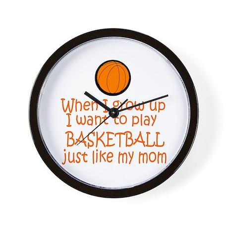 Basketball...just like MOM Wall Clock