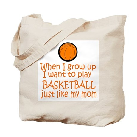 Basketball...just like MOM Tote Bag