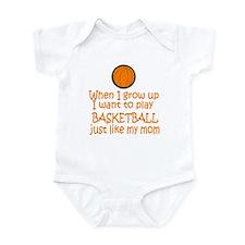 Basketball...just like MOM Onesie