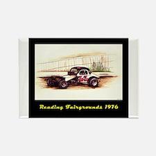 Reading Fairgrounds 44 Tasnad Rectangle Magnet